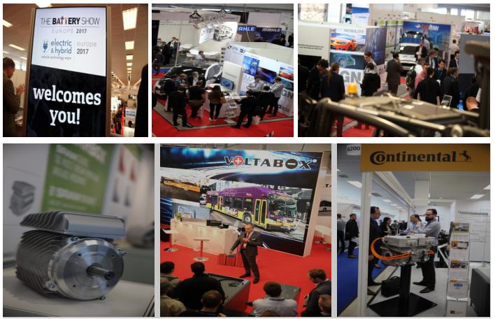 2018年欧洲电动和混合动力汽车技术博览会