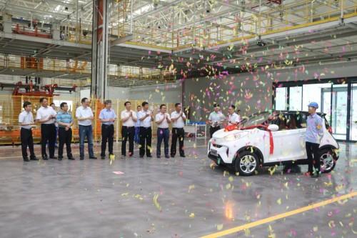 """打造新能源汽车""""智慧工厂"""" 奇瑞新能源二期生产项目成功投产"""
